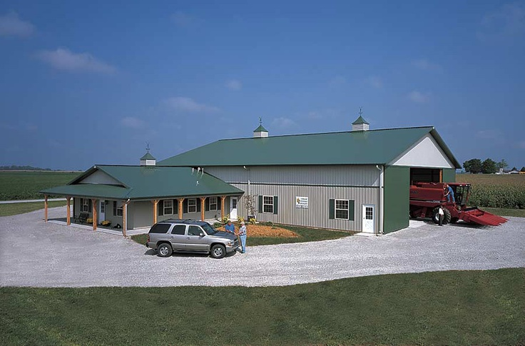 AgriBusiness Farm Office with Machine Shed Frankfort
