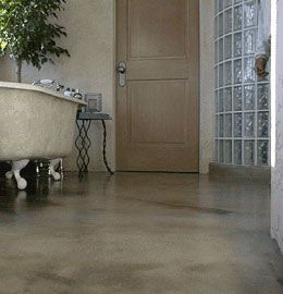 concrete bathroom floor ideas - Google Search