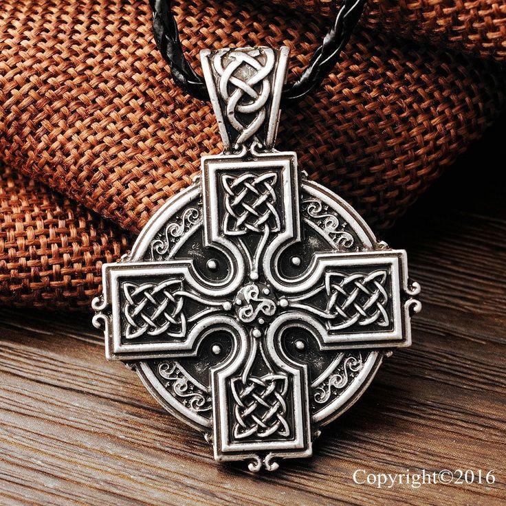 Celtic Irish Cross Pendant