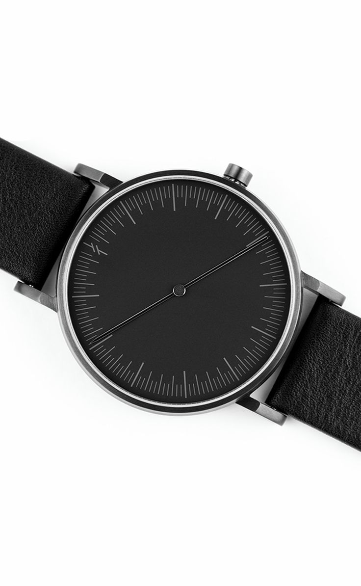 Onyx Black Watch by Simpl   From Clockwize.uk
