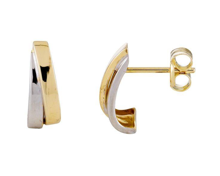 Glow Gouden Oorbellen Bicolor 4,5 mm breed 206.0473.00. Mooie 14 karaats bicolor gouden Oorknoppen. Deze tijdloze en kwalitatief hoogwaardig oorstekers gaan een leven lang mee en zijn vervaardigd uit een zeer hoge kwaliteit gekeurd geelgoud. De glanzende afwerking geeft de oorknopjes een chique effect. De Oorknoppen zijn gemaakt in de vorm van een halve creool. https://www.timefortrends.nl/sieraden/gouden-sieraden/gold-collection.html#p=11