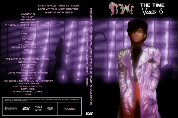 Remember dancing in the aisles at Prince, Time and Vanity 6 concert --- remember the Bird??