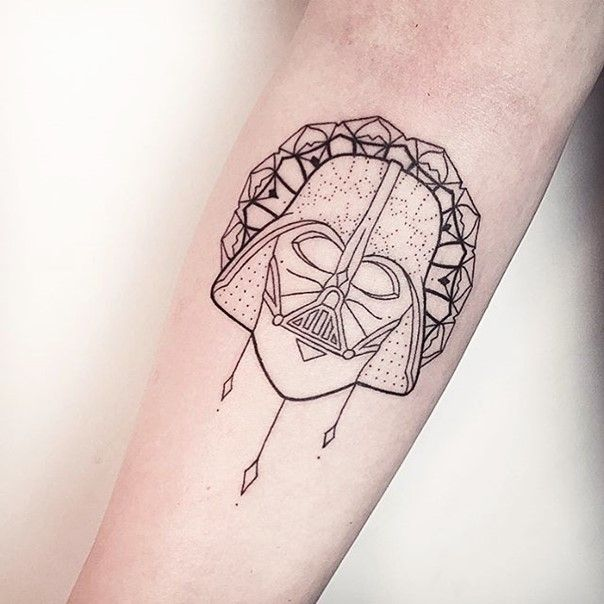 star wars darth vader tattoo-32