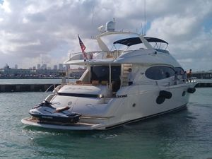 Rent a #Yacht in Miami from #SouthBeachExoticRentals - Yacht Name- Living The Dream - Best for cruising in style - Contact us for rental costs and features. #YachtRentals #YachtCharter #LuxuryRentals #ExoticRentals