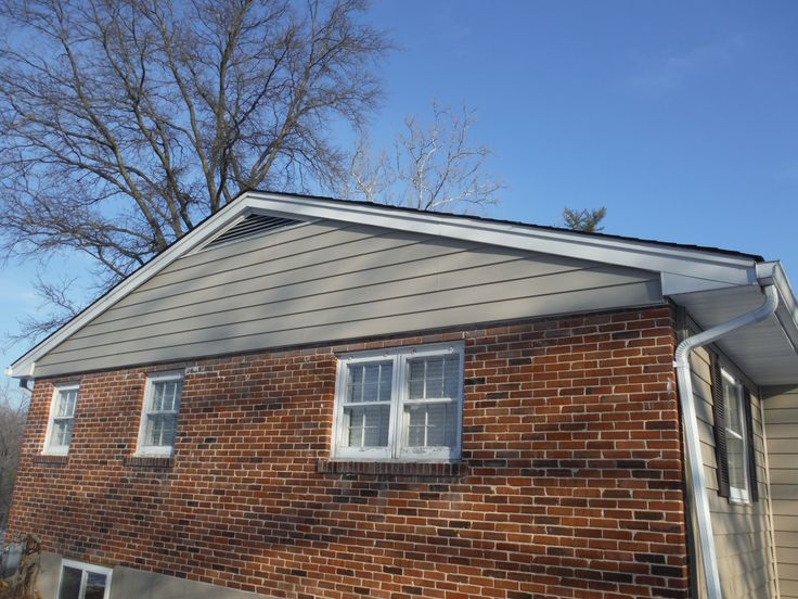 New Craneboard Replaced Old Masonite Siding Craneboard D