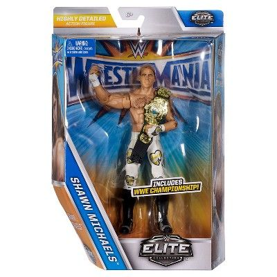 Wwe Wrestlemania Elite Collection Shawn Michaels Figure - Wrestlemania 13