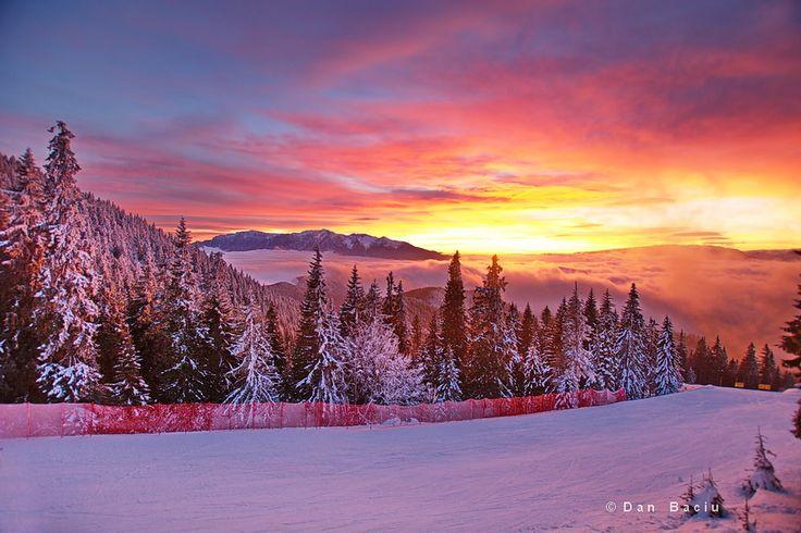 winter in Poiana Brasov - Romania