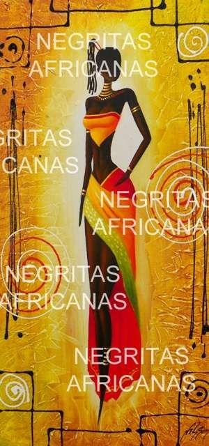 fotos de negritas africanas pinturas hermosas y exclusivas en