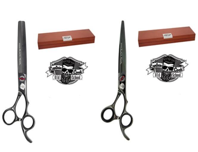 Tijeras de la linea Capitan Cook para el cuidado de hombre tanto en la barba como el cabello
