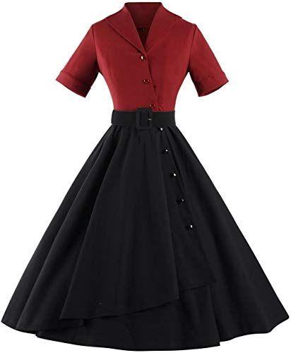 Erstaunliches Angebot auf GownTown Women Spleißen Swing Dress Party Picknick Cocktailkleid online
