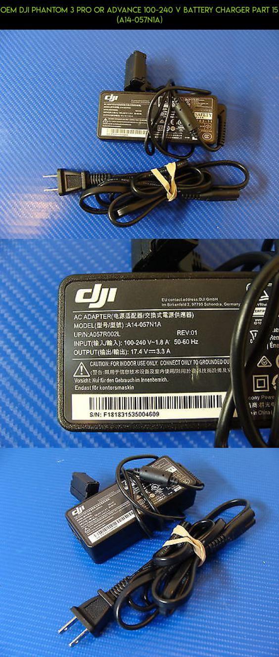 OEM DJI Phantom 3 PRO OR ADVANCE 100-240 V Battery Charger Part 15 (A14-057N1A) #kit #dji #3 #parts #fpv #oem #battery #racing #standard #tech #technology #phantom #drone #gadgets #products #camera #plans #shopping