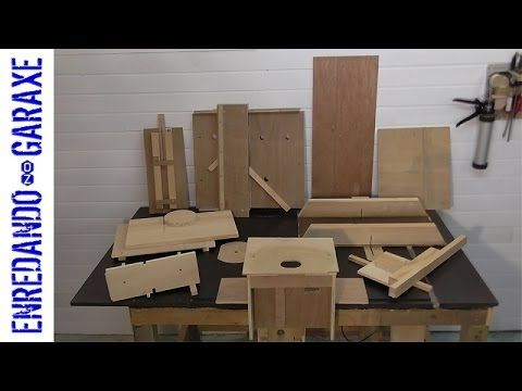 Everybody has its favourite woodworking jigs. In this video we can take a glance to 10 of my favourite woodworking jigs. You can watch how to make them in my...