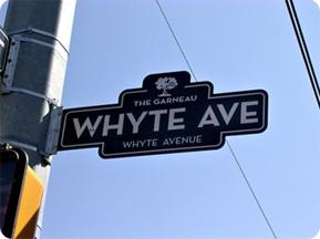 Whyte Avenue, Edmonton Alberta