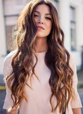 Image result for long wavy hairstyles