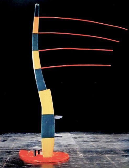 "Isamu Noguchi Sculpture from ""Embattled Garden"" 1958"
