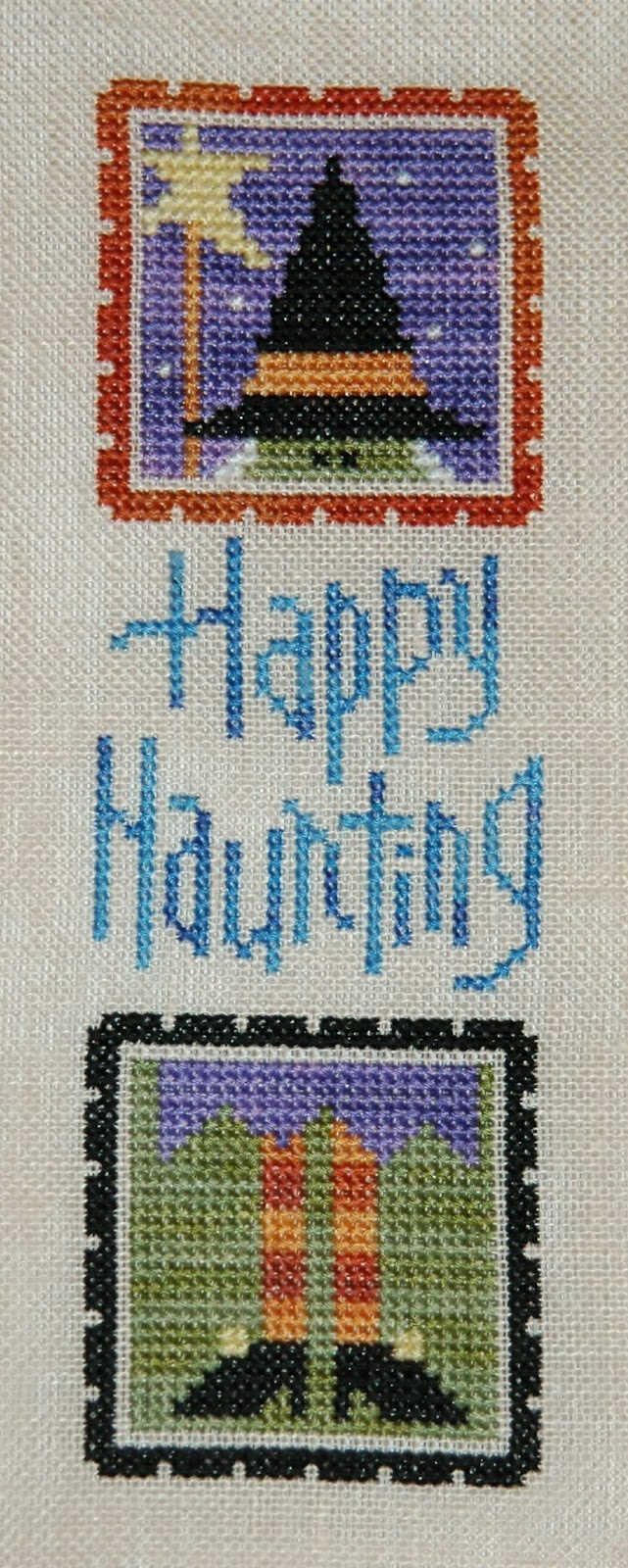 Lizzie*Kate finish - Happy Haunting, from the Fall Crazy leaflet