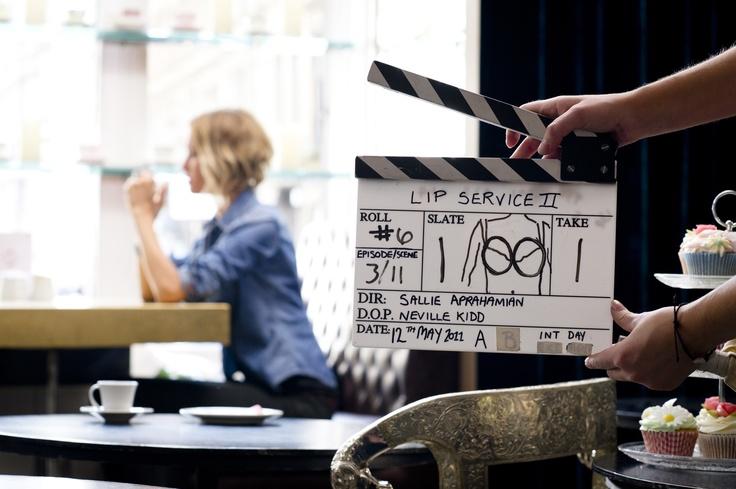 Lights, Camera, Action...(cheeky!)
