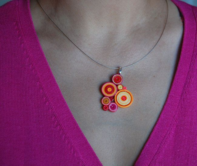Unique Paper Jewelry | ... you can make unique quilled paper jewelry in just a few simple steps