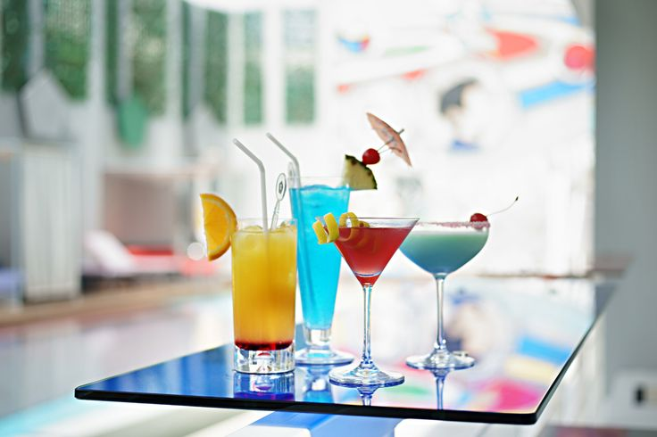Cocktails. Luna2 studiotel, Bali. #Lunafood #cocktails #poolside #cosmic