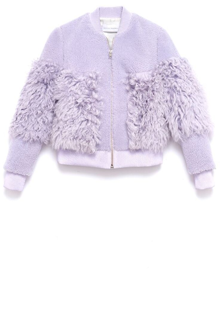 Loeffler Randall jacket, $1,295, loefflerrandall.com.   - HarpersBAZAAR.com