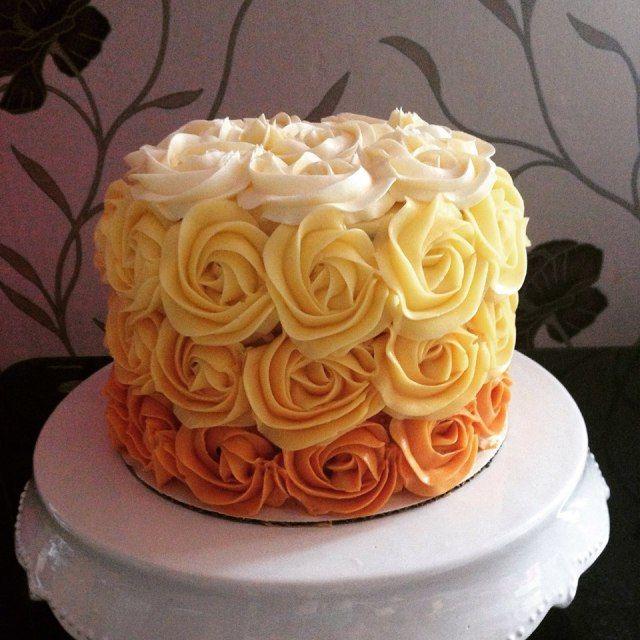 gyömbéres narancsos, trüffellel rétegezett torta