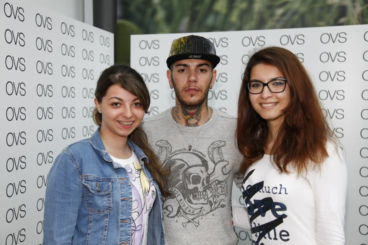 Emis Killa meet&greet with fans @ OVS store Milazzo