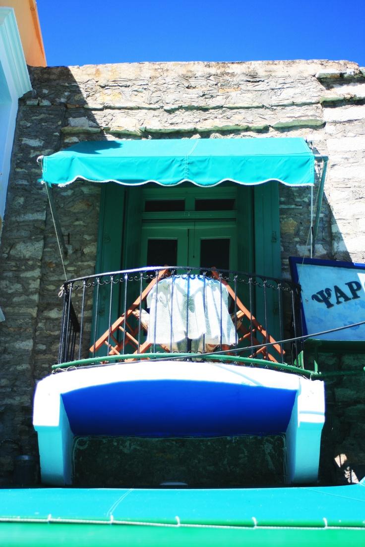 Symi, a little Greek island, a great destination for honeymooners :)