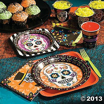 Oriental trading day of the dead party supplies!