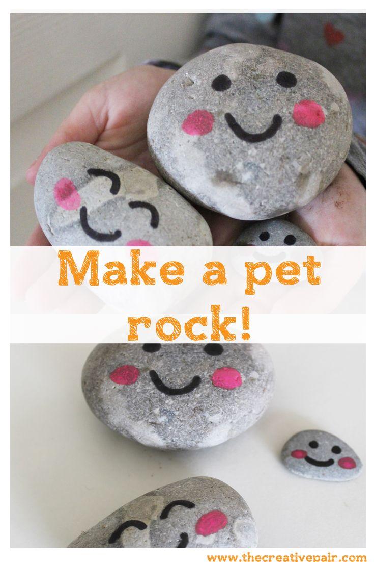 make a pet rock!
