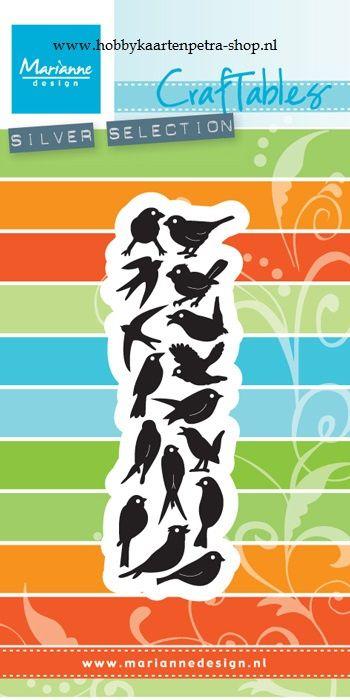 Craftables CR1398 Punch die: Birds
