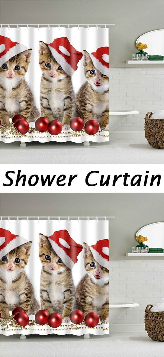 Highly Recommend it,50 OFF Christmas Shower Curtains,Free Shipping
