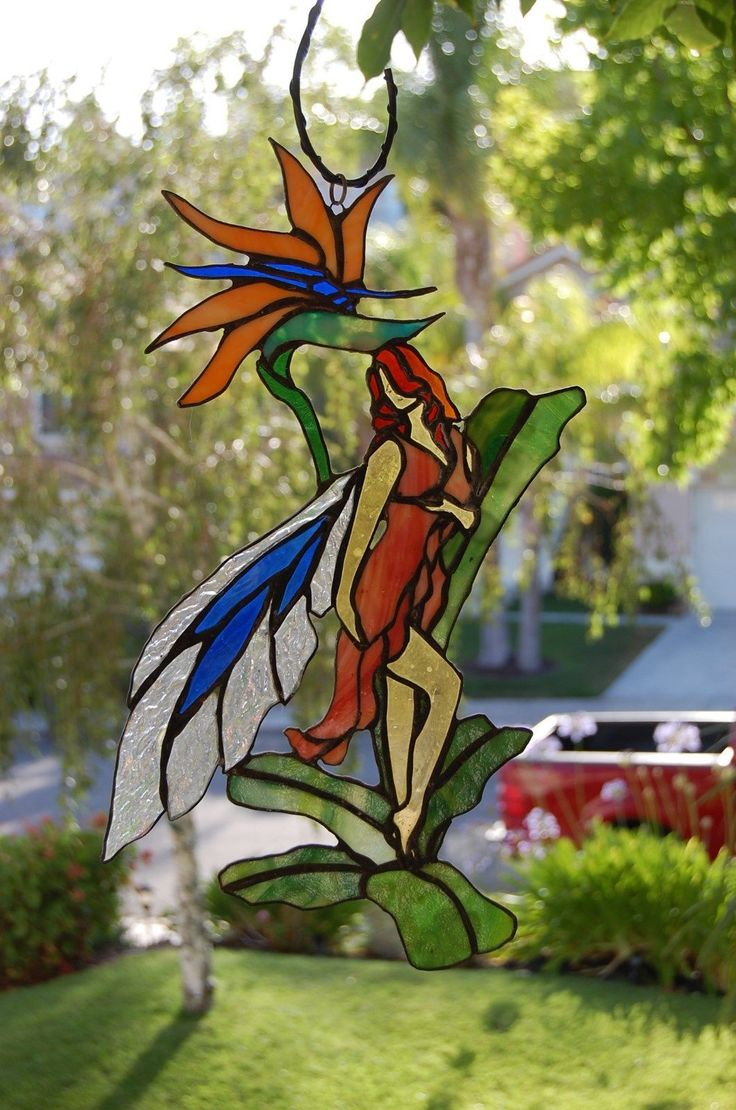 13 best Stained glass bird of paradise images on Pinterest ...