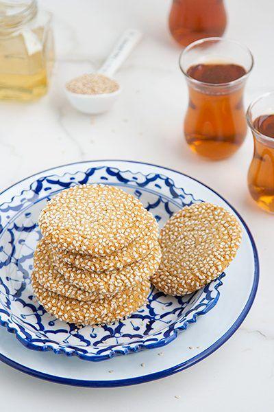 Ricetta Biscotti con tahina e miele - Labna