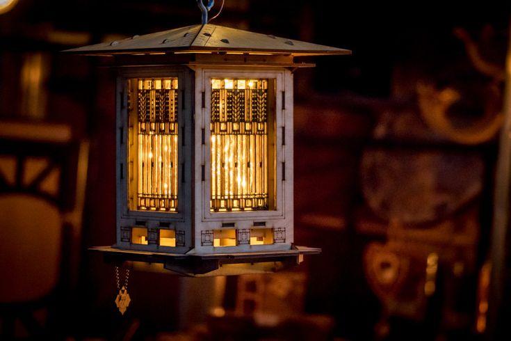 Bird Feeder Craftsman Prairie Style Wooden 3D от 1Man1Garage