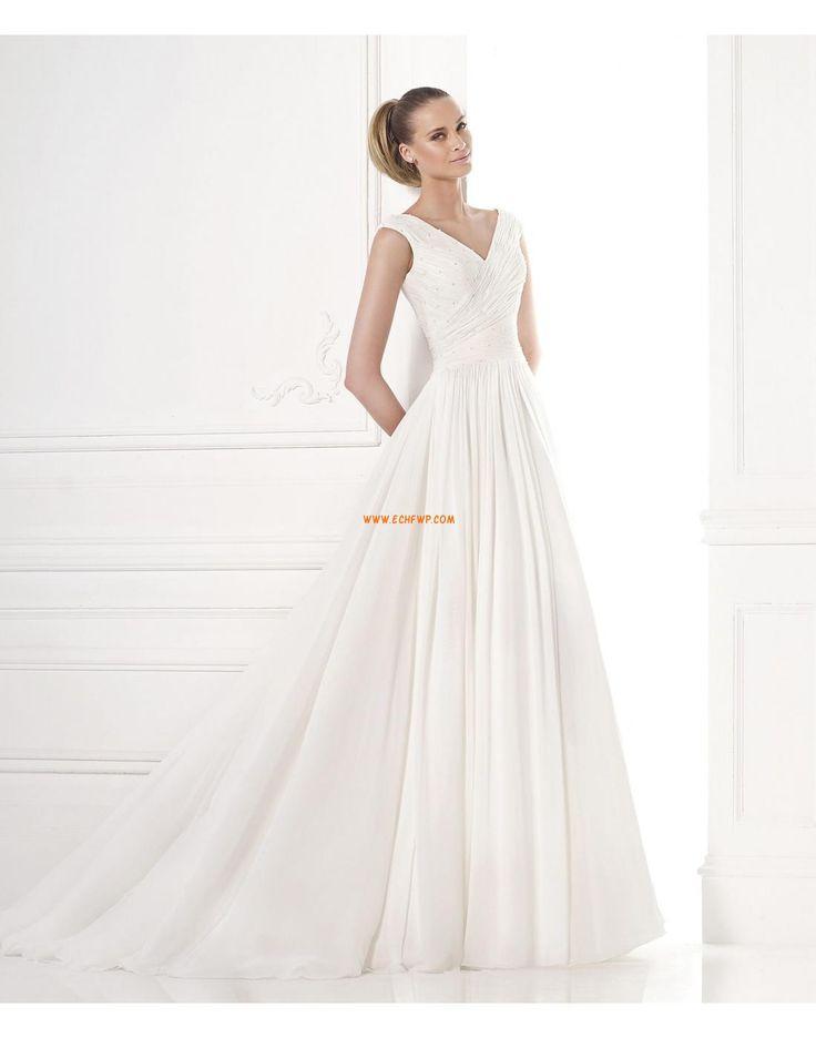 Brudklänningar med Bolero V-ringad Vår Bröllopsklänningar 2015