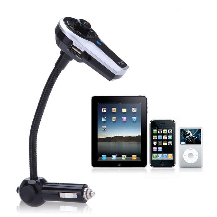 Venta Al Por Mayor Coche Bluetooth Reproductor Mp3 Transmisor Fm Altavoz Del Manos Libres Del Teléfono Música…