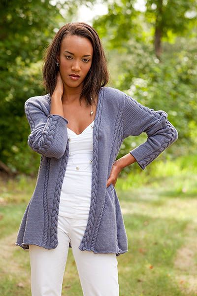 352 best Free Women\'s Cardigans Knitting Patterns images on ...