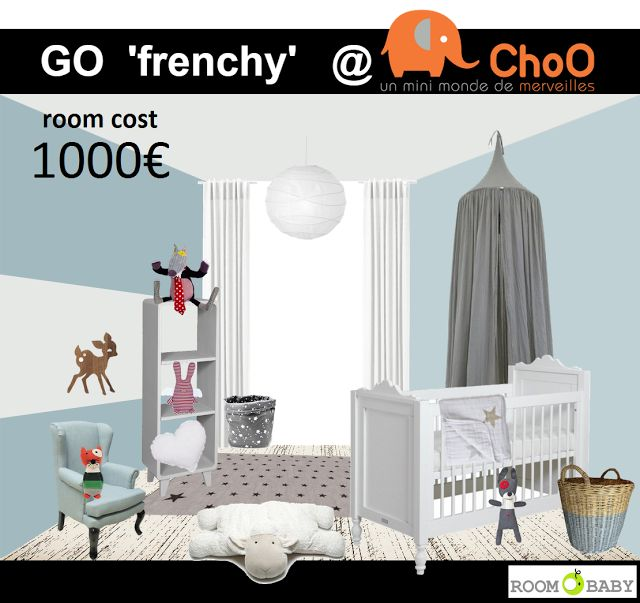 roomobaby blog: go 'frenchy' nursery