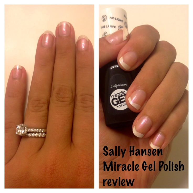 Sally Hansen Miracle Gel Review- a product I will be purchasing again!...I can attest to this! My nails never keep color on them and this stuff actually works and cures so quickly. I was typing away at work about 30 minutes after I started putting the first coat of color on!