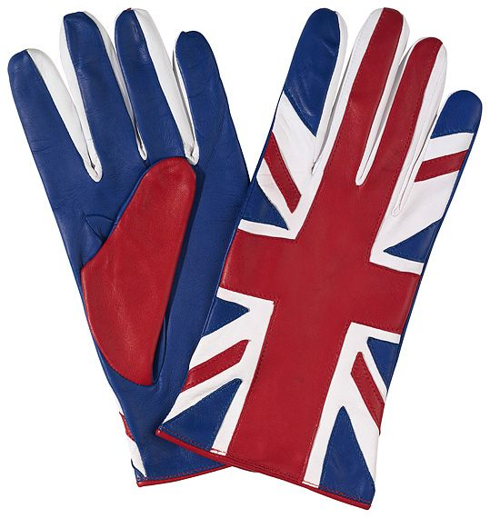 The union jack Gloves by Chester Jefferies