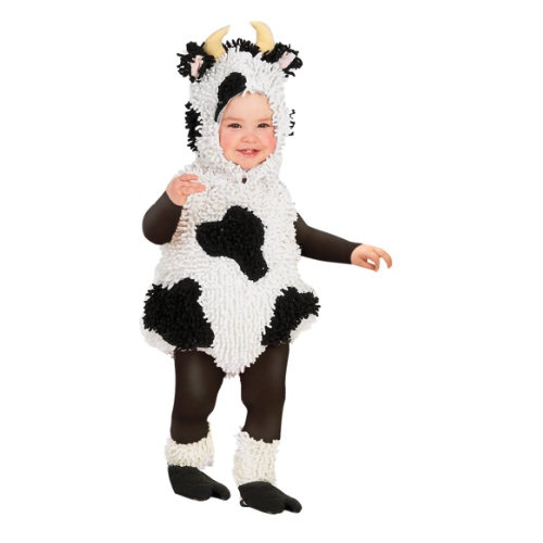How now, cutie cow? Our charming chenille cow costume is moovahlous quality, and since this kids' bubble costume accommodates layering, to keep little ones warm!