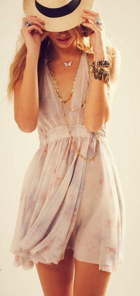 street style summer dress @wachabuy