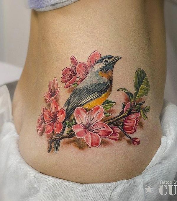 41 Best Beautiful Quote Tattoos And Bird Images On: Best 25+ Flower Tattoo Designs Ideas On Pinterest
