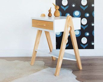 Les 25 meilleures id es de la cat gorie table de chevet - Table de nuit scandinave ...
