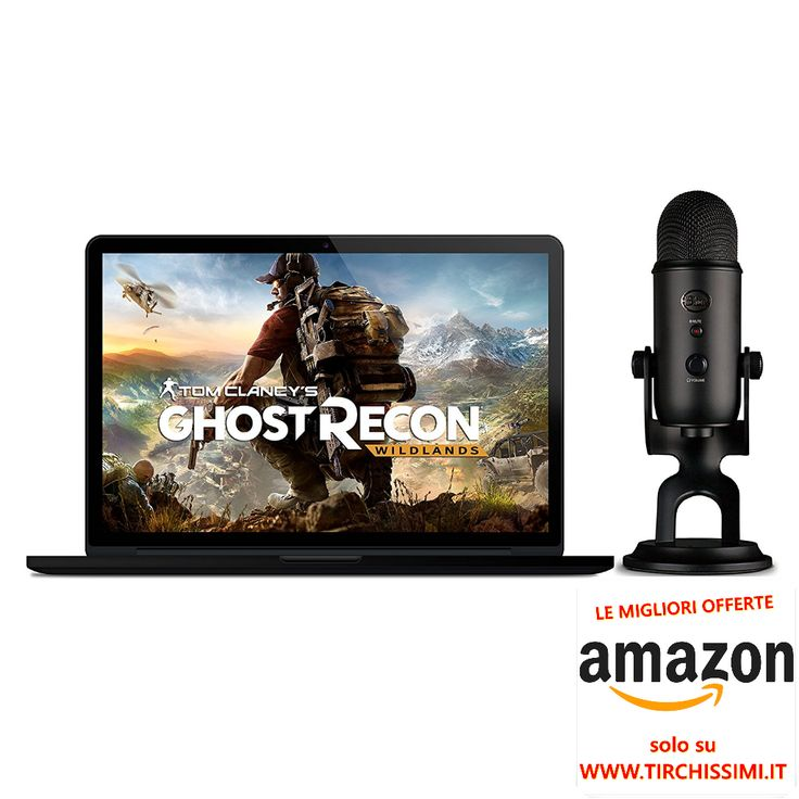 https://www.amazon.it/Blue-Blackout-Clancys-Ghost-Wildlands/dp/B0722VZSRW/ref=as_li_ss_tl?m=A11IL2PNWYJU7H&s=musical-instruments&ie=UTF8&qid=1520236941&sr=1-1&linkCode=sl1&tag=tirchissimiit-21&linkId=26eda034d8e2c7b6563b511d19e46c21 Blue Blackout Yeti + Tom Clancy's Ghost Recon Wildlands PC OFFERTA VIDEOGAMES #amazon #xboxone #ps4 #playstation #microsoft #nintendo #switch #videogame #newdeals #videogames #nerd