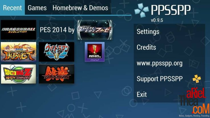 PPSSPP For AdvanS5E
