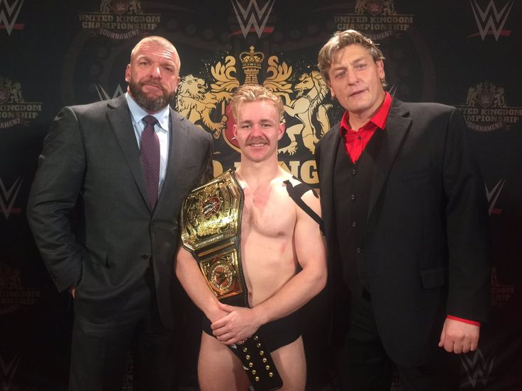 Tyler Bate was crowned the 1st WWE United Kingdom Champion following the WWE UK Tournament.