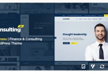 Consulting – Business, Finance  Nulled WordPress Theme
