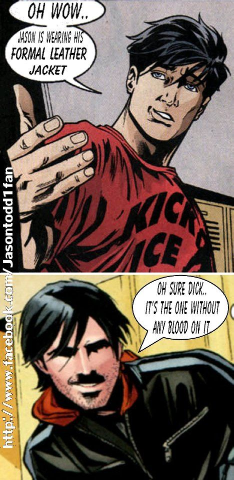 Jason Todd And Dick Grayson 51 best images about B...