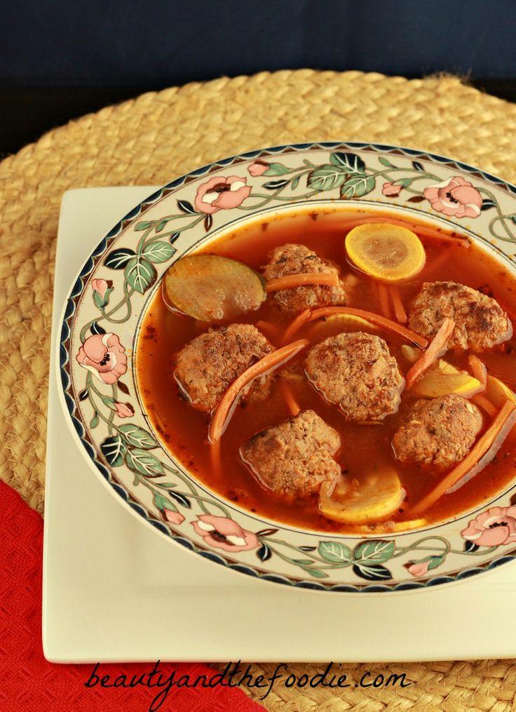 Paleo Italian Meatball Soup (crock pot) | Recipe | Italian ...